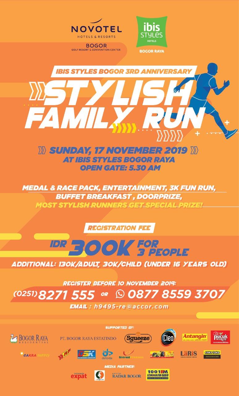 Stylish Family Run • 2019