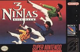Jogo online 3 Ninjas Kick Back Snes