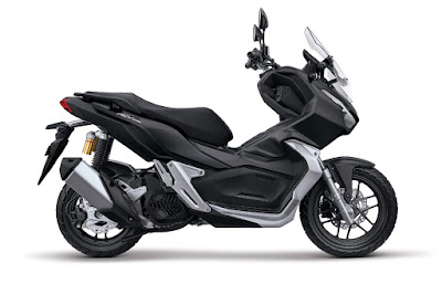 Honda ADV150 Tough Matte Black