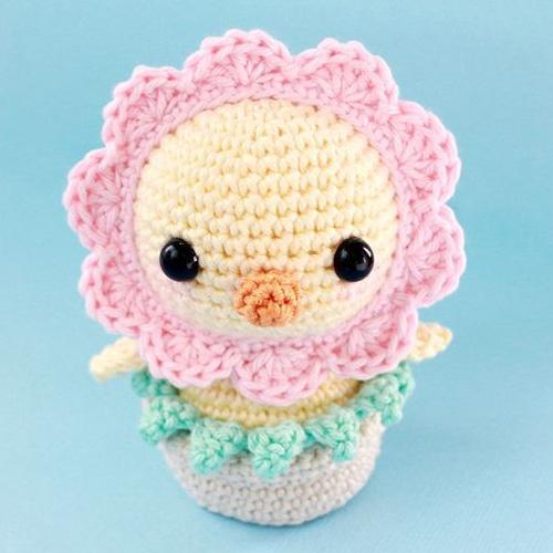 Funny Chick Amigurumi - Free Pattern