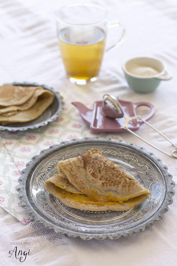 Desayuno sin leche ni gluten