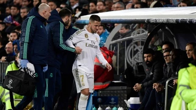 Hazard and Bale are out of Real Madrid's list against Real Sociedad