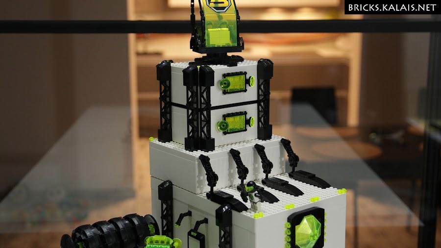 4. Higher levels - Ikea BYGGLEK Blacktron base