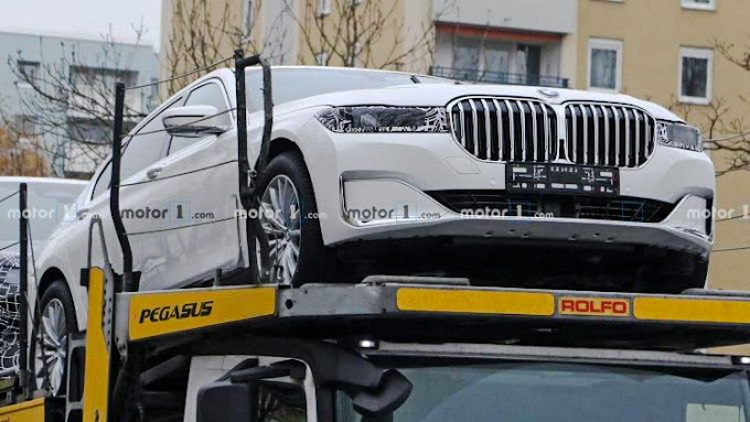 The next-gen BMW 7 Series 2022 appears in spy photos