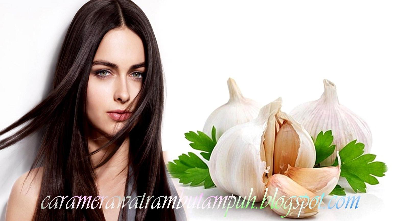 Cara Merawat Rambut Secara Alami dengan Bawang Putih