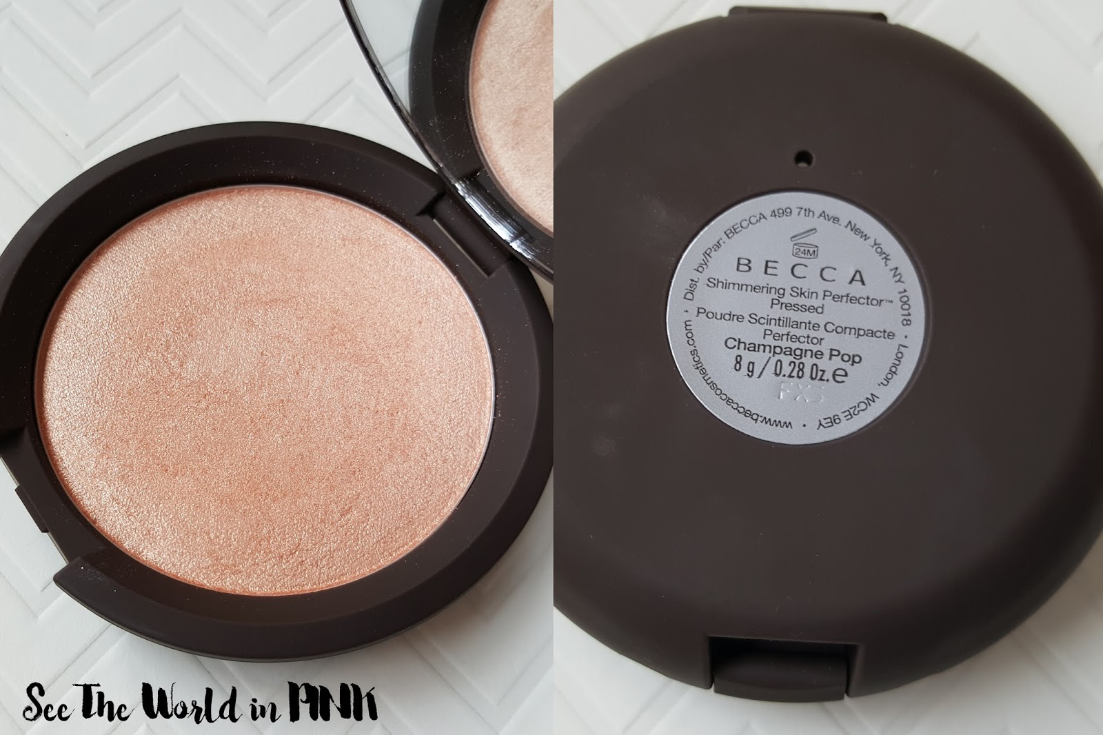 "Becca Highlighter Comparison and Reviews - ""Shimmering Skin Perfector"" Pressed vs. Poured vs. Liquid"