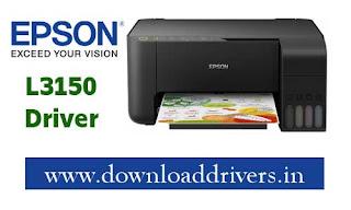 Epson L3150 driver, Download 64bit driver for Epson L3150 printer, Download Scanner driver for Epson L3150 32 bit