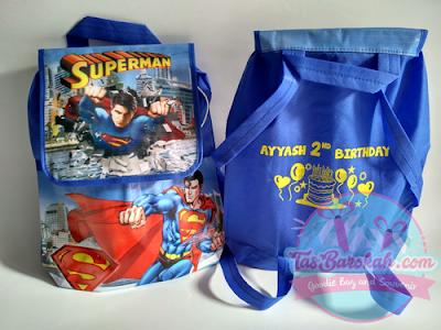 TAS ULANG TAHUN ANAK SUPERMAN