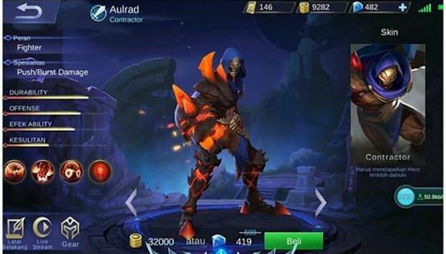 Tanggal Rilis dan Biaya Untuk Membeli Hero Aulrad