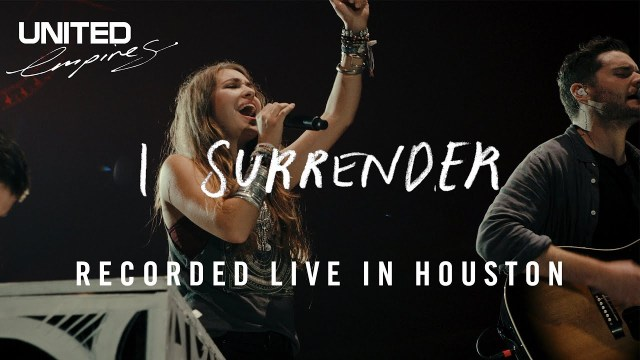 Audio + Video: Hillsong United Ft. Lauren Daigle – I Surrender