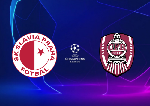Slavia Praha vs CFR Cluj -Highlights 28 August 2019