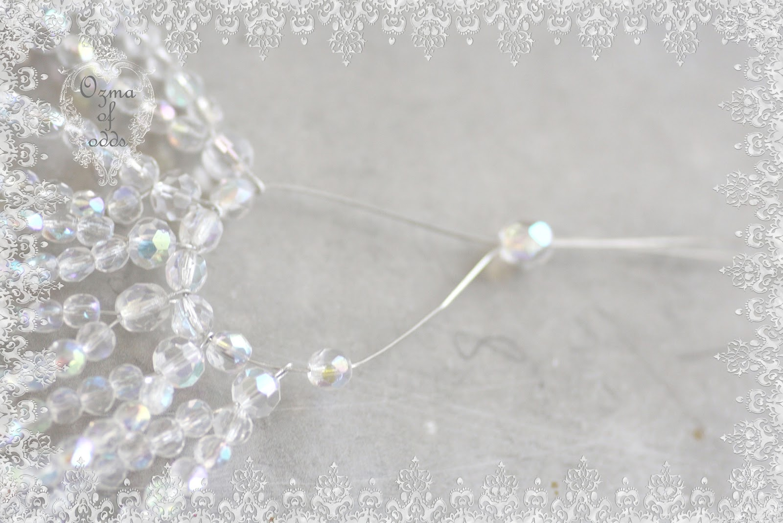 Ozma Of Odds Ystal Beaded Light Bulb Cover Tutorial