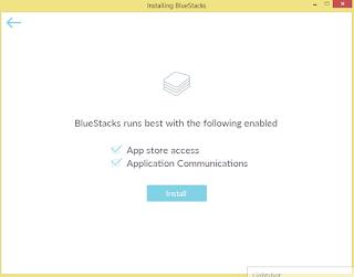 Cara install bluestack tanpa error di laptop