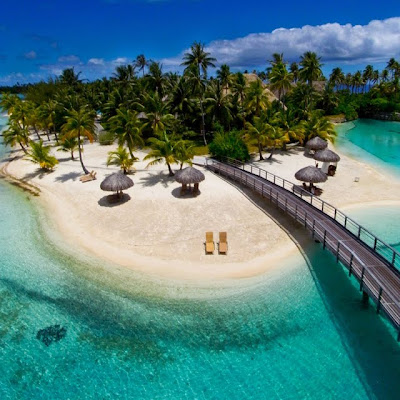 Hotel Intercontinental y Spa Thalasso en Bora Bora