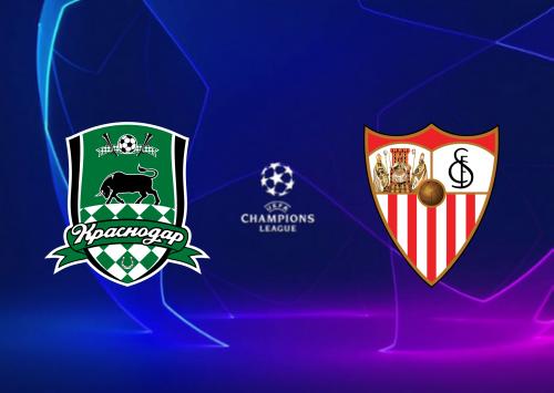 Krasnodar vs Sevilla -Highlights 24 November 2020