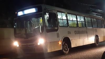 Com criança no colo, homem anuncia assalto dentro de ônibus no RN