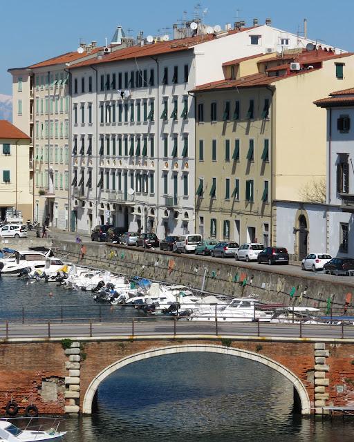 Via Castelli, seen from the Fortezza Nuova (New Fortress), Livorno