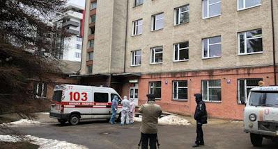 """В Черкассах в """"ковидной"""" больнице возник пожар"""