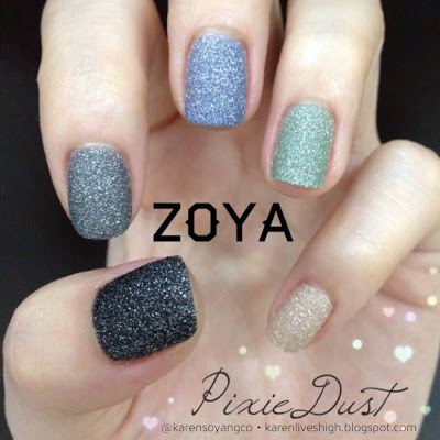 Karen Lives High Zoya Pixiedust Collection Infused With Magic And Wonder