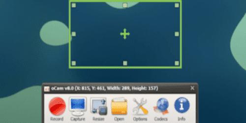 تحميل برنامج تصوير شاشة الكمبيوتر فيديو و صور download ocam pc