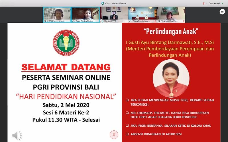 Menteri Bintang Ajak Para Guru Hadirkan Sistem Pendidikan Aman dan Nyaman Bagi Anak