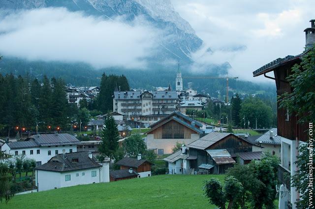 Cortina d'Ampezzo Italia viaje Dolomitas