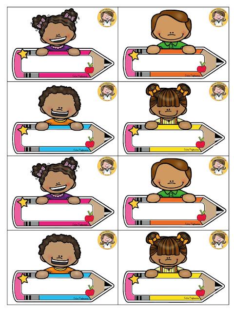 gafetes-escolares-imprimir-preescolar-para-niños