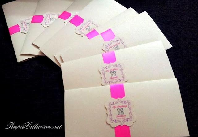 Beatrice's Purple Boarding Pass Wedding Card, Beatrice, Purple Wedding, Purple, Boarding Pass Wedding Card, Boarding Pass, Wedding Card, Card, Marriage, Boarding Pass Pocket