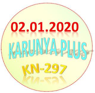Kerala lottery Result Karunya Plus KN-297 02.01.2020