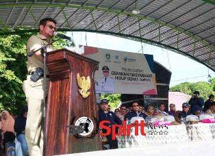 SYL,Apresiasi Gerakan Masyarakat Hidup Sehat di Parepare