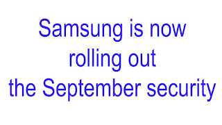 Samsung is now rolling out the September security patch to multiple T-Mobile phones