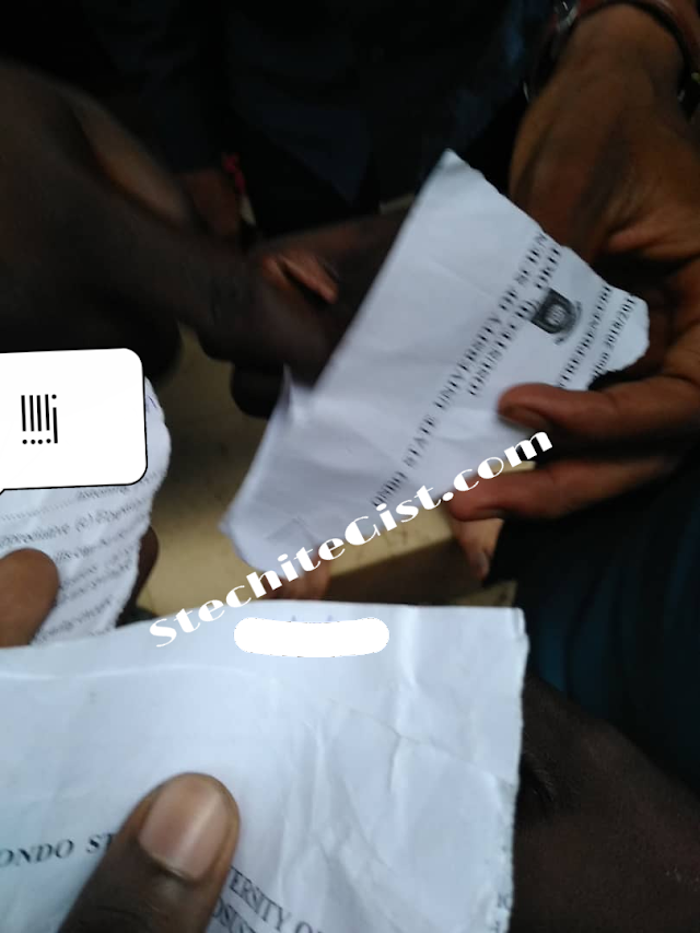 Panic As University Student Papers Gets Torn into Pieces During Examination (photos)