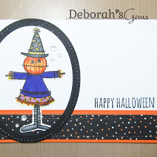 Happy Halloween sq - photo by Deborah Frings - Deborah's Gems