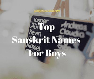Sanskrit Names For Baby Boy s