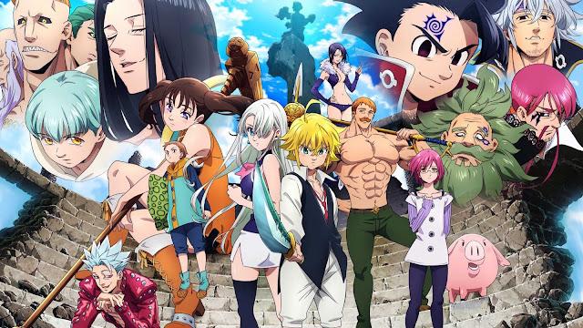 Hasta que capitulo del manga llega el anime de Nanatsu no Taizai