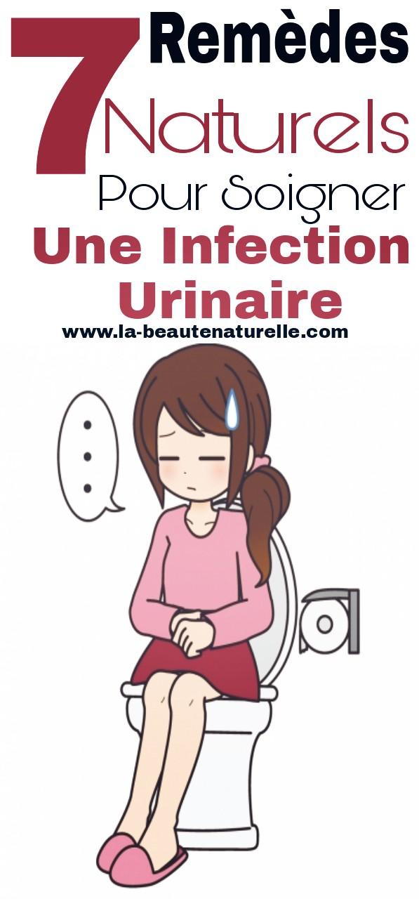7 Remèdes naturels pour soigner une infection urinaire