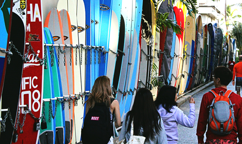 surfboards honolulu hawaii