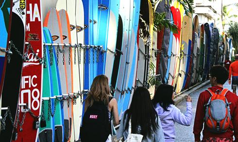 surfboards honolulu hawaii