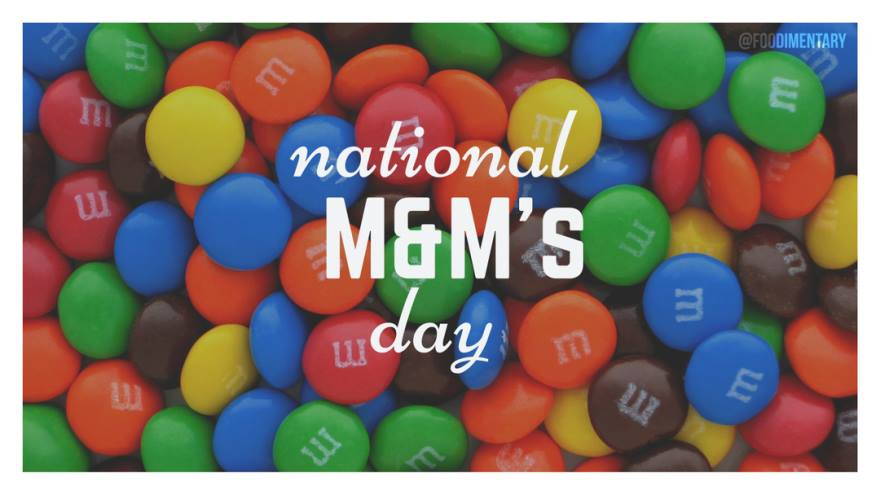 National M&M Day Wishes Awesome Picture