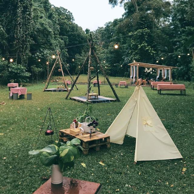 Camp Coffee and Nature Godean Jogja - Menu, Fasilitas Lengkap & Lokasi