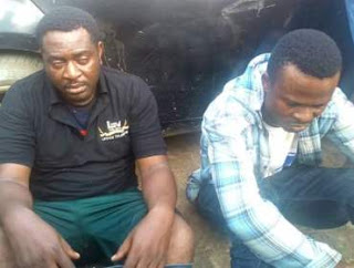 Suspected kidnappers who posed as journalists nabbed at Igbogbo-Bayeku Council Secretariat, Lagos
