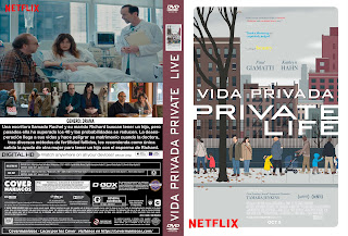 VIDA PRIVADA-PRIVATE LIFE 2018 [COVER DVD+BLU-RAY]