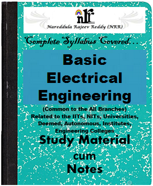 Basic Electrical Engineering Pdf Study Materials Cum Notes