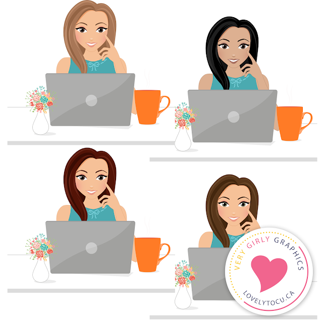 Free woman avatar clipart from Lovelytocu