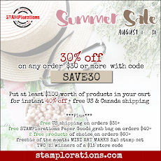 STAMPlorations August Sale