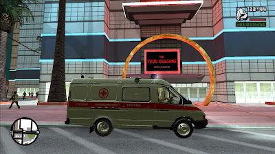 GTA San Andreas Gazelle Ambulance 2021