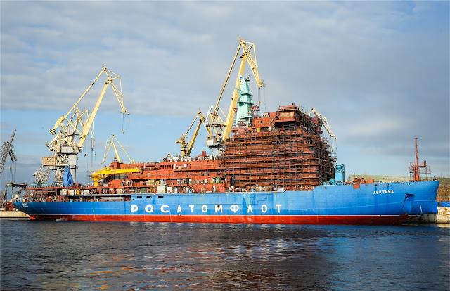 كاسحات الجليد النووية الروسية - Russian nuclear icebreakers