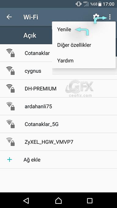 Wi-fi ağını yenileme - www.ceofix.com