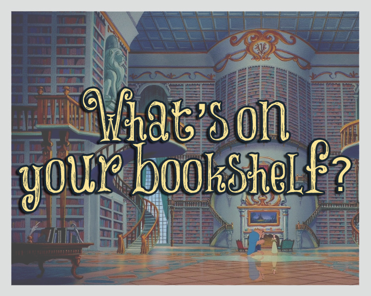 GIVEAWAY and What's on your bookshelf?