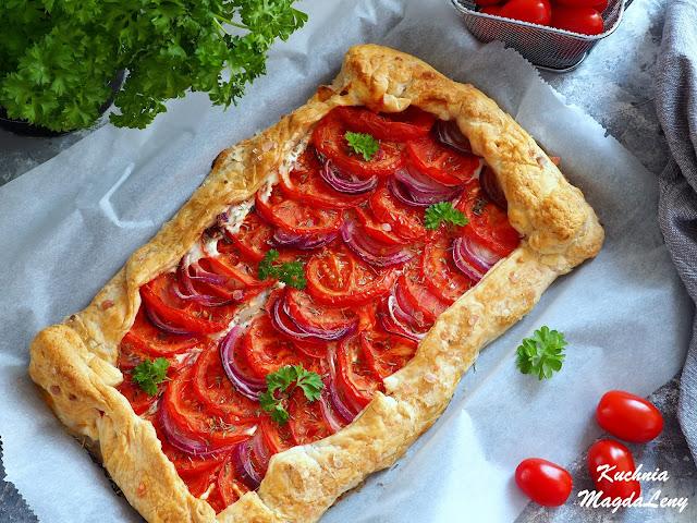 Fit tarta z pomidorami